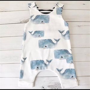 Other - New babyboy whale romper